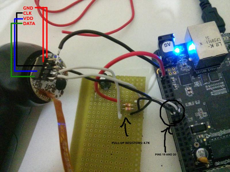 Wiring the fan to beaglebone